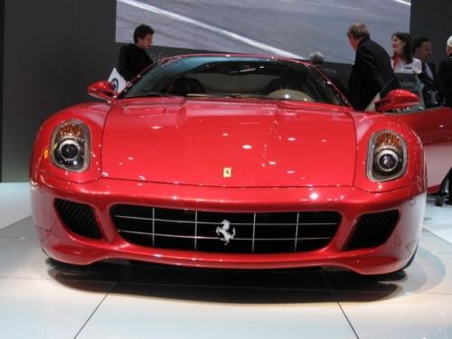 Geneva 2009 LIVE: Standul Ferrari6563