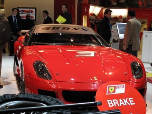 Geneva 2009 LIVE: Standul Ferrari6574