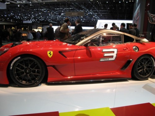 Geneva 2009 LIVE: Standul Ferrari6580