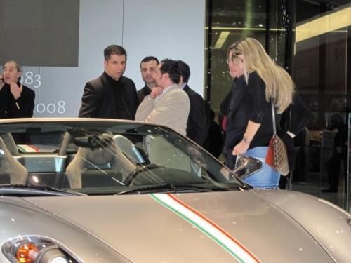 Geneva 2009 LIVE: Standul Ferrari6583