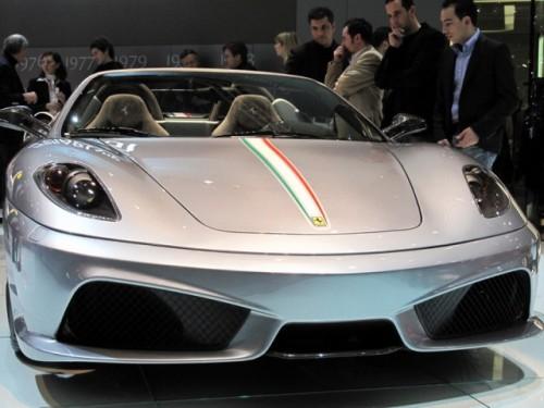 Geneva 2009 LIVE: Standul Ferrari6585