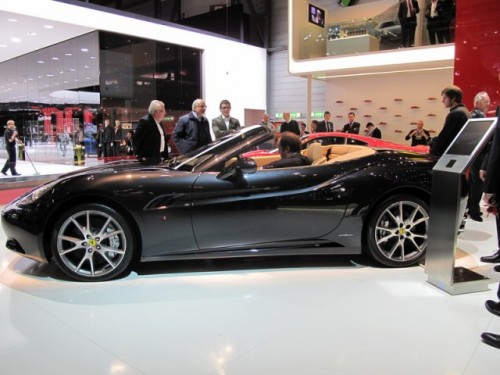 Geneva 2009 LIVE: Standul Ferrari6587