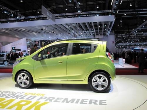 Geneva 2009 LIVE: Chevrolet Spark, urmasul Matizului6374