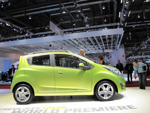 Geneva 2009 LIVE: Chevrolet Spark, urmasul Matizului6396