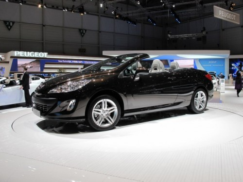 Geneva 2009 LIVE: Standul Peugeot6252