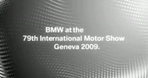 VIDEO: Teaser BMW pentru Geneva5889