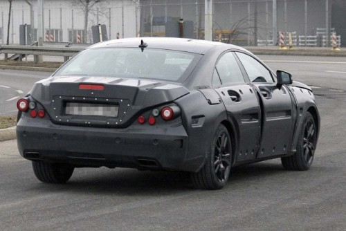 Mercedes-Benz CLS spionat din nou!5609