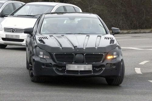 Mercedes-Benz CLS spionat din nou!5611