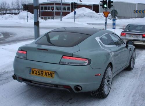 Aston Martin Rapide la Cercul Arctic!5520