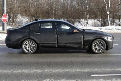 Noi imagini spion cu BMW Seria 5!5503