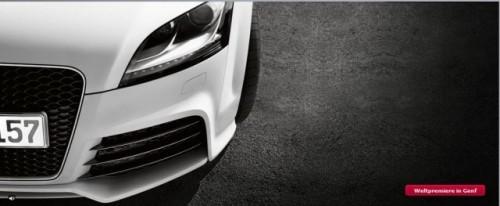 Audi TT RS prezentat oficial!5470