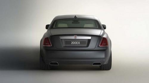 Stafia argintie - Rolls-Royce 200EX Concept!5462