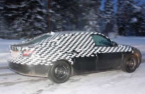 Prototipul Saab 9-5 la teste de iarna!5366