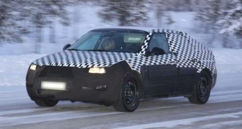 Prototipul Saab 9-5 la teste de iarna!5367