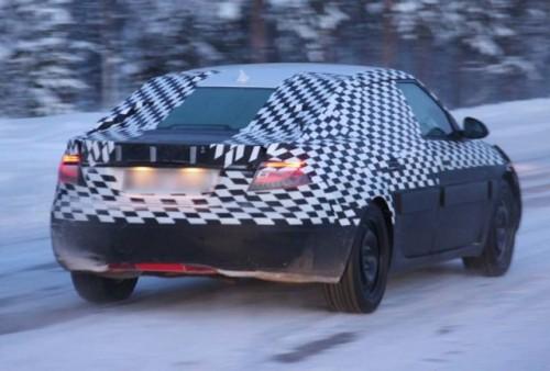 Prototipul Saab 9-5 la teste de iarna!5368