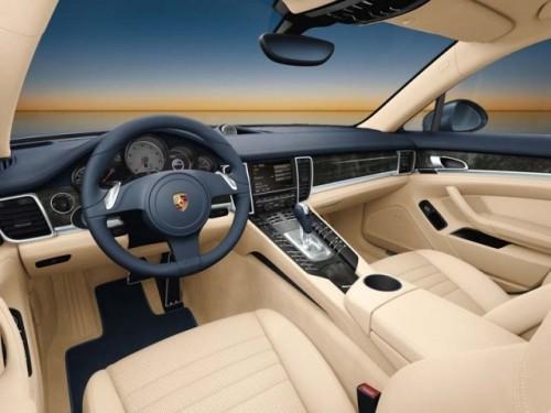 Interiorul Porsche Panamera prezentat public!5230