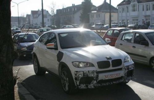 Urat. Mai urat. Un BMW X6 M alb5020