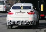 Urat. Mai urat. Un BMW X6 M alb5022