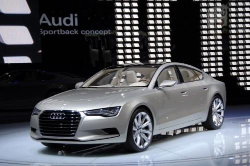 Prototipul Audi Sportback - inaugurat in cadrul Salonului Auto Detroit 20094952