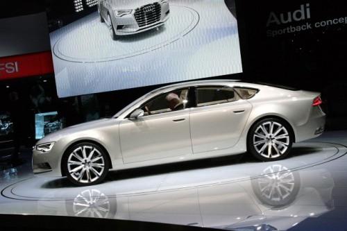 Prototipul Audi Sportback - inaugurat in cadrul Salonului Auto Detroit 20094953