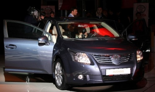 Lansare Noua Toyota Avensis4689