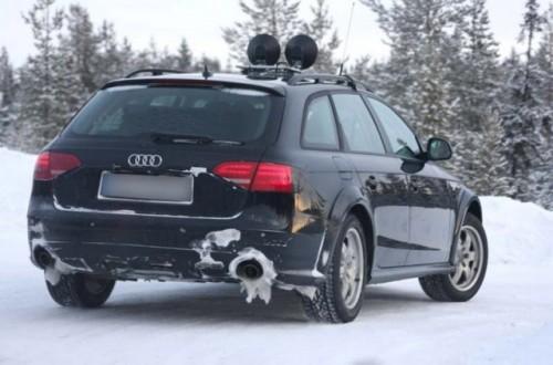 Audi A4 Allroad in Suedia la teste!4666