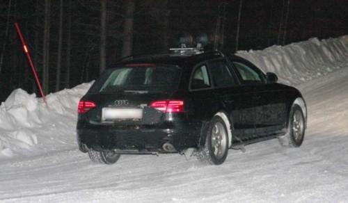 Audi A4 Allroad in Suedia la teste!4668