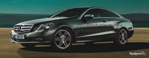 Mercedes E-Class Coupe - primele imagini oficiale4653
