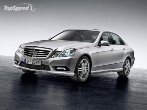 2009 Mercedes E-Class AMG sports package4649