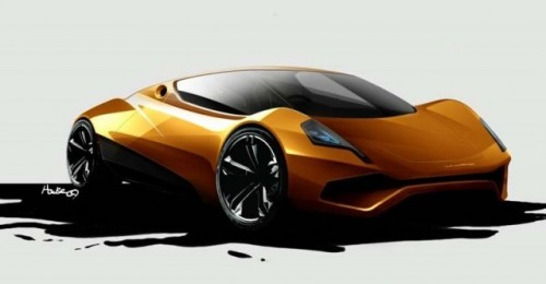 O noua super masina electrica!4636