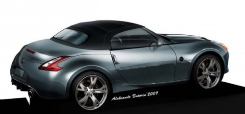 Asa va arata 370Z Roadster ?4580