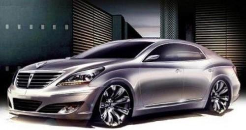 Ingeniozitate coreeana - Hyundai Equus4146