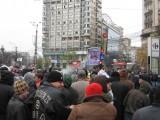 Centrul, blocat de marsul contra taxei auto3851