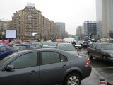Taxa auto: sute de oameni in strada in Capitala3616