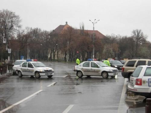 Taxa auto: sute de oameni in strada in Capitala3641
