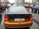 Taxa auto: sute de oameni in strada in Capitala3657