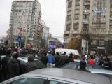 Taxa auto: sute de oameni in strada in Capitala3620