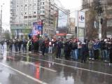 Taxa auto: sute de oameni in strada in Capitala3625