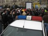 Taxa auto: sute de oameni in strada in Capitala3636