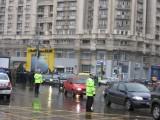 Taxa auto: sute de oameni in strada in Capitala3639