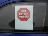 Taxa auto: sute de oameni in strada in Capitala3661