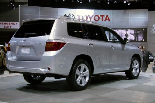 Toyota Highlander - Un nou membru al liniei!3478