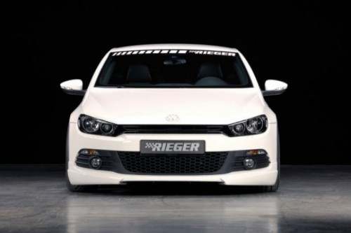 Essen 2008 Volkswagen Scirocco tunat de Rieger Tuning3324