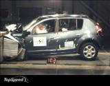 Trei stele EuroNCAP pentru Dacia Sandero3191