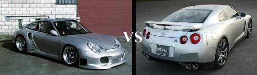 Porsche GT-2 si Nissan GT-R - O disputa aprinsa!3106