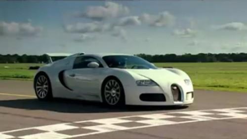 Bugatti Veyron - Proba de foc Top Gear!3103