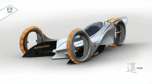 Mazda Kann castiga concursul de design de la salonul auto din Los Angeles3087