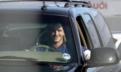 David Beckham, pasiune pentru masini2993