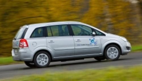 Opel Zafira CNG: Turbo, cu gaz natural2860
