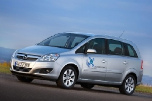 Opel Zafira CNG: Turbo, cu gaz natural2862